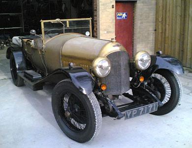 Una meravigliosa Bentley 3 litri con vernice originale!