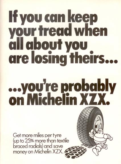 165X15 Michelin XZX