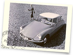 Citroën DS monté en Michelin XAS