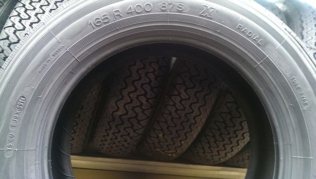 Data di produzione 165SR400 Michelin X