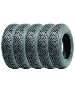Set of 5 180HR15 Michelin XAS
