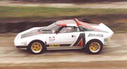 Pneu collection sur Lancia Stratos